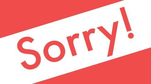 разница между sorry +и excuse